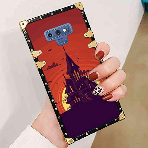 Haunted Manor Cell Phone Case Compatible Galaxy Note 9 (2018) (6.4 Inch)