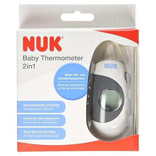 NUK Baby Thermometer 2in1, extra kleiner Messaufsatz