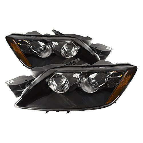 Headlight 7 Halogen - PERDE Compatible with Mazda CX-7 Halogen Headlights with Performance Lens