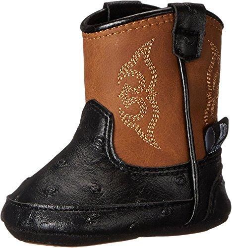 M&F Western Baby Boy's Baby Bucker Camden (Infant/Toddler) Black Boot 2 Infant M]()