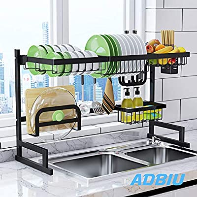 Amazon.com: Sink Rack Dish Drainer for Kitchen Sink Racks ...