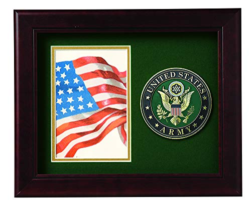 Allied Frame US Army Medallion Portrait Picture Frame - 4 x 6 Picture ()