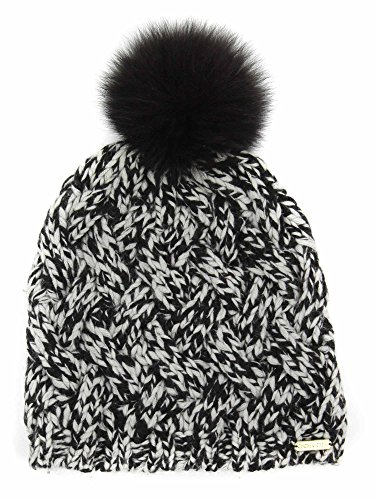 Coach Women's Cashmere Wool Braided Cable Knit Winter Beanie Hat ()