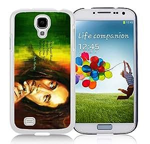 Fashionable Skin Case For Samsung Galaxy S4 I9500 i337 M919 i545 r970 l720 With Bob Marley 3 Samsung Galaxy S4 White Phone Case 059