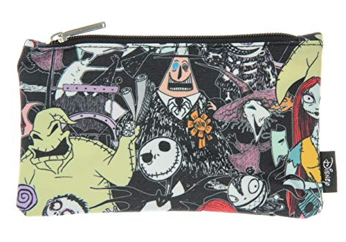 Sally Skellington Makeup (Loungefly Disney The Nightmare Before Christmas All Over Character Print School Pencil)