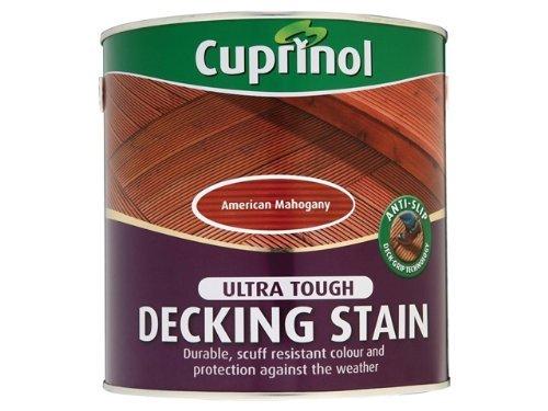 Timber Decking Stain (Cuprinol 2.5L anti slip Decking Stain - Golden Maple by Cuprinol)