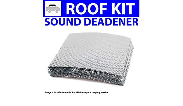 for 93-02 BMW e36 ~ Trunk Compartment Kit Zirgo 314111 Heat and Sound Deadener