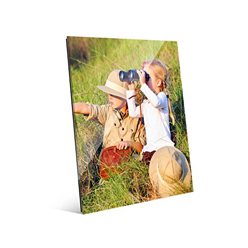 16x20 Photo Bird - Picture Wall Art Your Photo on Custom Glass 16 x 20 Vertical Print