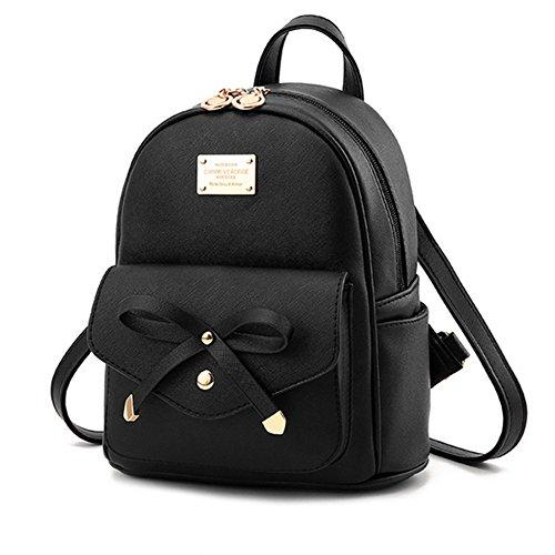Cute Mini Leather Backpack Fashion Small Daypacks Purse ...