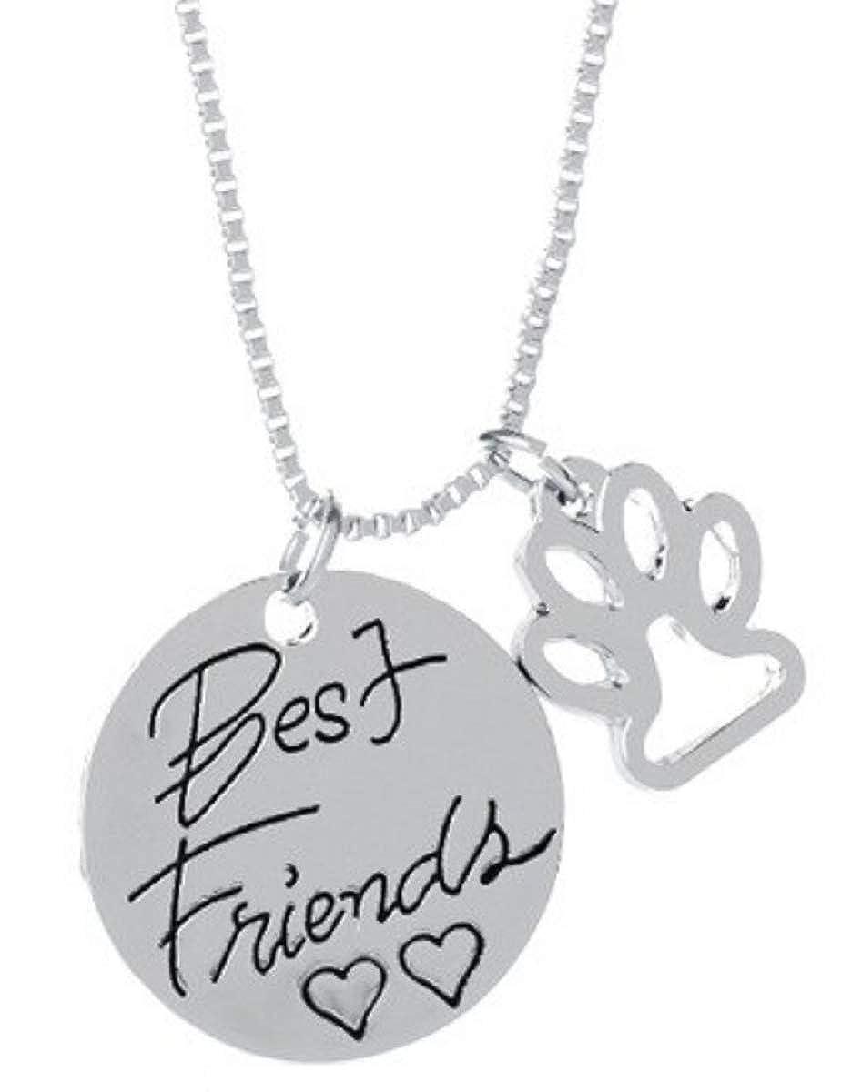 Lovelegis Collar de Pata de Perro - Best Friends - Mejores ...