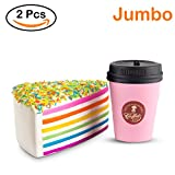 WATINC Jumbo Squishies coffee cup&pink ice cream Slow...