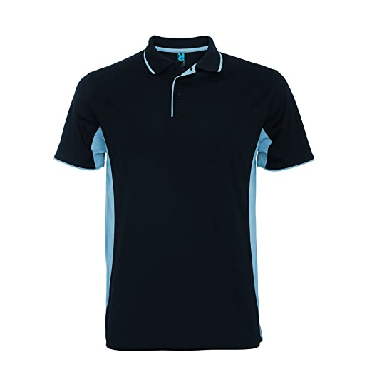 Impex12 Men S Two Color Sport Polo Shirt Golf Tennis Sportswear