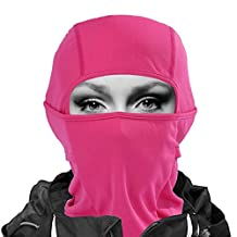 7in1 Balaclava Ski Mask Premium Face Mask Windproof Motorcycle Neck Warmer Gaiter Breathable Tactical Balaclava Hood Quick Dry Cycling Headgear Thermal in Outdoors Super Comfortable Moisture Wicking