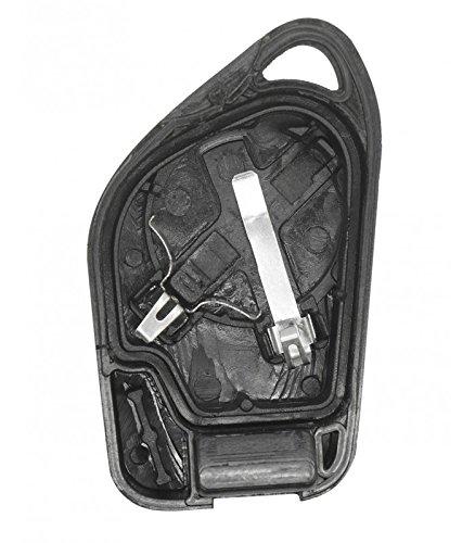 406 Citro/ën PSA Cokitec 1 bot/ón Carcasa para llave de coche