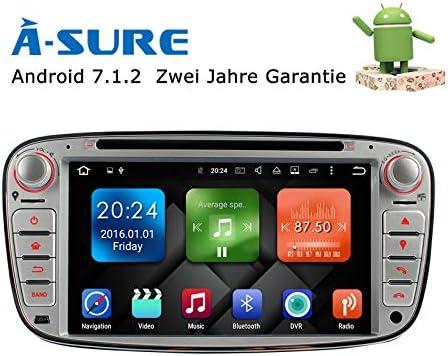 A Sure 7 Android 7 1 2 2gb Ram Autoradio Dvd Gps Auto Elektronik