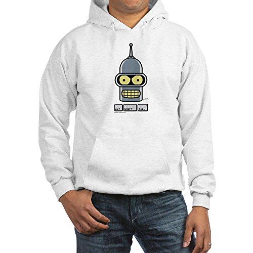 CafePress Futurama Alt Shift Kill - Pullover Hoodie, Classic & Comfortable Hooded Sweatshirt