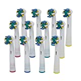 Generic Compatible 4 PCS / Pack Electric Tooth Brush Heads Replacement for Braun Oral B Floss Action NEW (12 pcs)