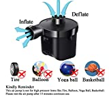 KXT Electric Air Pump, Portable Quick-Fill Pump for