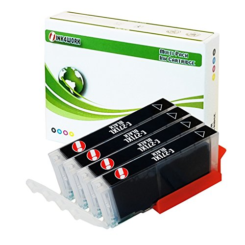 INK4WORK Compatible Ink Cartridge Replacement for Canon CLI-271XL CLI271 XL for use with PIXMA MG5720 MG5721 MG5722 MG6820 MG6821 MG6822 MG7720 TS5020 TS6020 TS8020 TS9020 (Photo Black, 4-Pack)