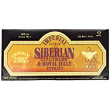 Siberian Eleuthero & Royal Jelly Extract by Imperial Elixir - 30 bottles