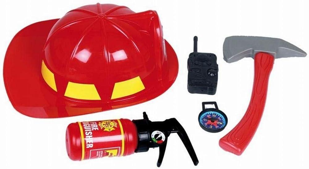 Casa del Disfraz Set Bombero 5 Pcs: Amazon.es: Ropa y accesorios