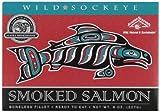 Alaska Smokehouse Smoked Sockeye Fillet in Gift Box, 8-Ounce Each (Pack of 2)