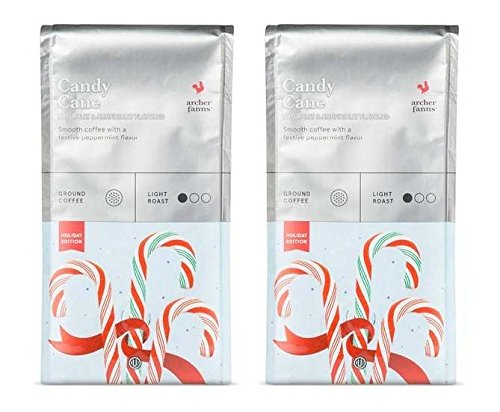 Candy Cane Frog (Archer Farms Candy Cane Ground Coffee Holiday Edition 2-pack, 12-ounce Bags)