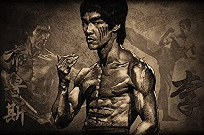 "Bruce Lee's ."" Poster By A-ONE POSTERS 12x18 inch"