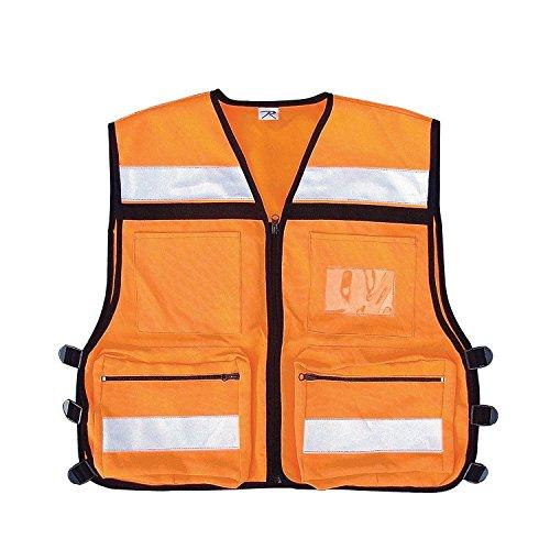 Rothco Rescue Safety Vest, Orange