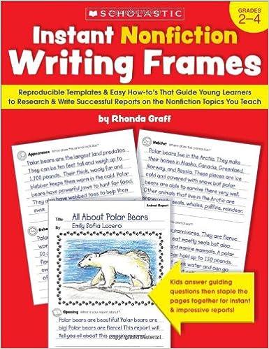 Amazon.com: Instant Nonfiction Writing Frames: Reproducible ...