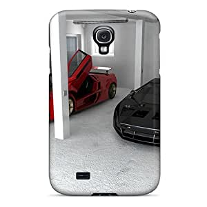 Galaxy Case - Tpu Case Protective For Galaxy S4- V8 Twin Turbo Concept