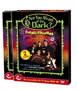 Are You Afraid of the Dark? - Freaky Favorites -  REGION 1 DVD ( 2 Disk Set )