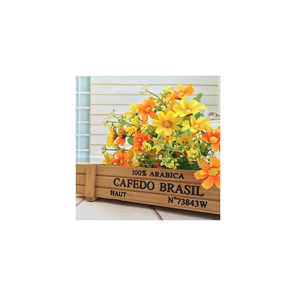 Inverlee-1-Bunch-Artificial-Flowers-Fake-Flowers-Wedding-Bridal-Bouquet-DIY-Home-Garden-Decor