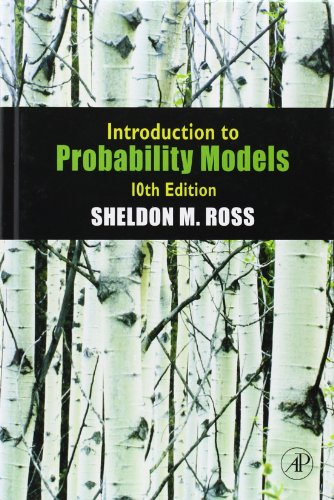 Solution manual for introduction to probability models 10th.