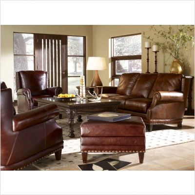 Bradington Young 781   ST Glastonbury Leather Sofa And Loveseat Set