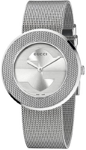 Gucci U Play Silver Dial Stainless Steel Quartz Ladies Watch - Glasses Gucci Mens Reading