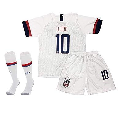 sale retailer 2af87 b2b2f Amazon.com: Ucupone Carli Lloyd #10 Jersey 2019 Women's ...