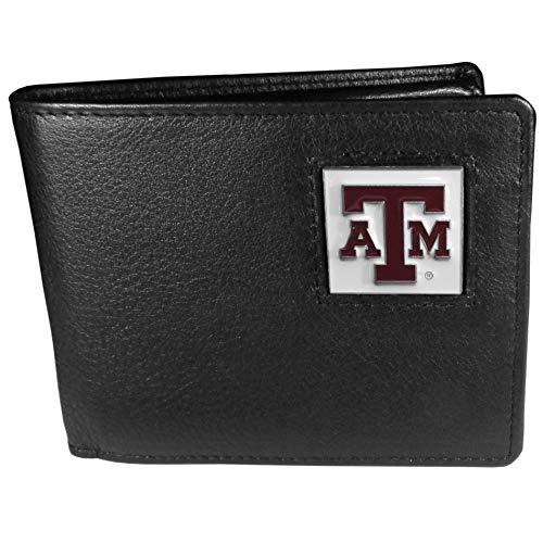- NCAA Texas A&M Aggies Leather Bi-fold Wallet