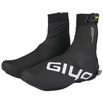 LeKing Zapatos de Ciclismo al Aire Libre Cubierta de Invierno Impermeable GIYO Mountain Road Zapatos de Bicicleta Cubierta MTB Mountain Road Bicicleta ...