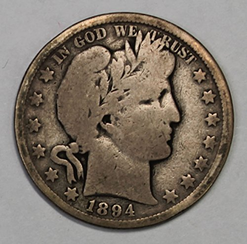 1894 O Barber Half Dollar 50c Good