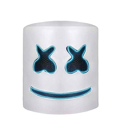 H.Yue DJ Marshmell Mask LED Helmet Music Festival ...