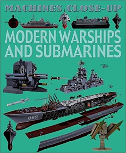 Book Modern Warships and Submarines (Machines Close-up)