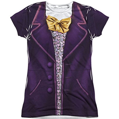 Trevco Willy Wonka & The Chocolate Factory Wonka Costume Juniors T-Shirt X-Large ()