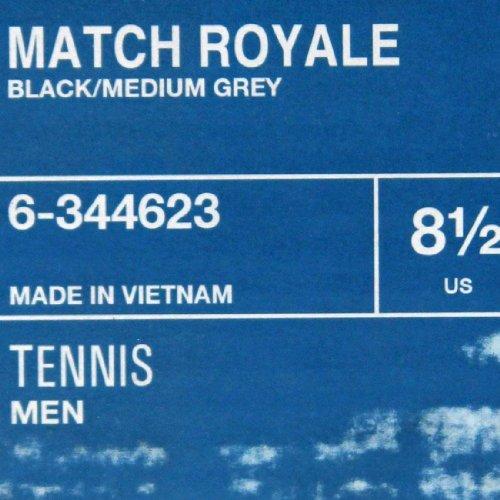 Men Reebok Match Reebok medium black Royale grey Match Men CtZqE