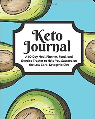 Keto Journal 8x10 Tracker