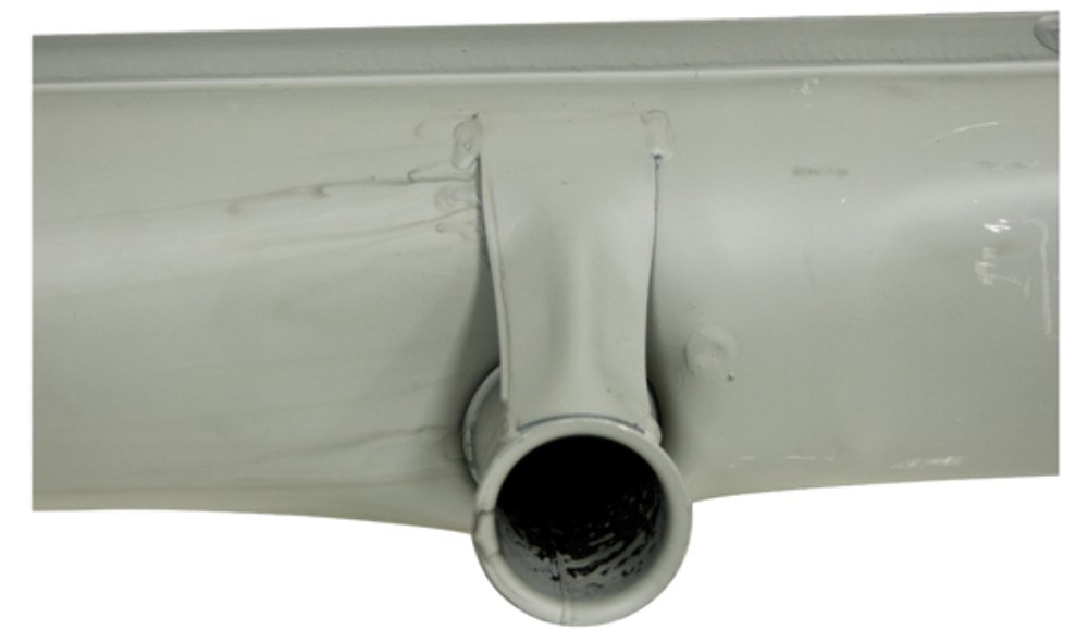 1300-1600cc Replaces OEM #113 251 053AKEUVW Bug Beetle EMPI 95-3003-B Euro-Made Stock Replacement Muffler Type 1 Volkswagen