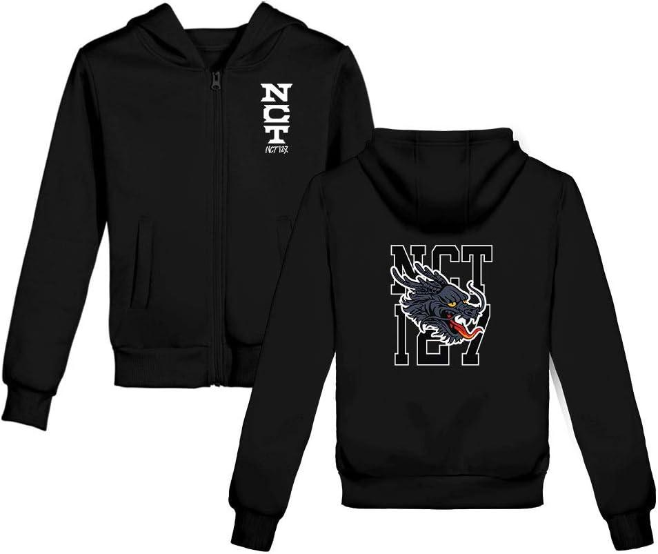 Fittrame NCT 127 Merchandise New Album NEO Zone Zipper Pullover Jacket Loose Coat