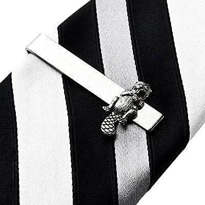 Beaver Tie Clip