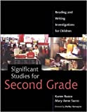 img - for Significant Studies for Second Grade: Reading and Writing Investigations for Children by Karen Ruzzo (2004-02-11) book / textbook / text book