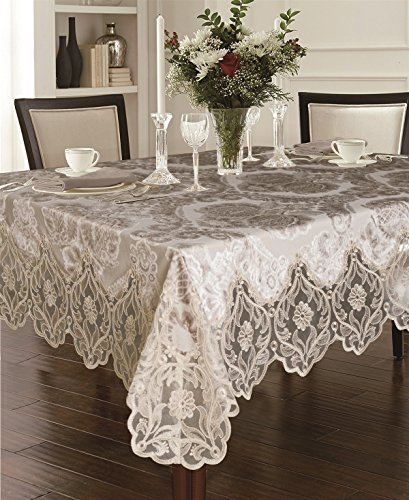 White tablecloth 90 x 108